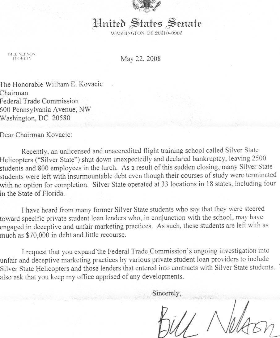 Correspondence 522 letter from sen altavistaventures Image collections